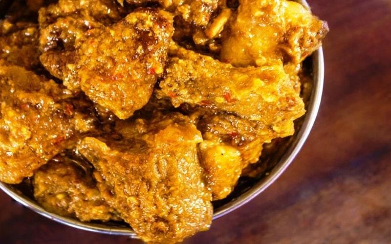 Apong and Sengmora with pork